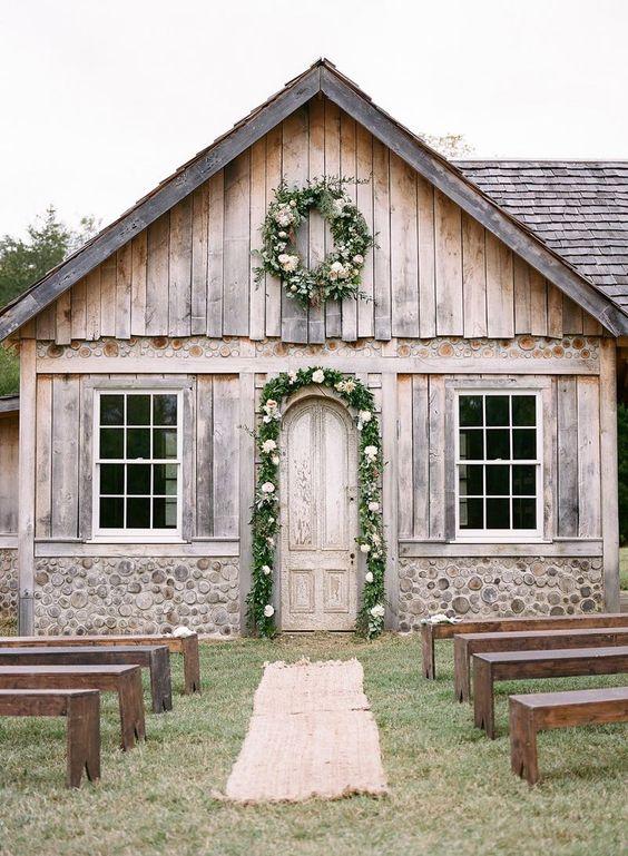 The Cedar Cottage at Cedarwood Weddings by Jenna Henderson. #cedarwoodweddings…