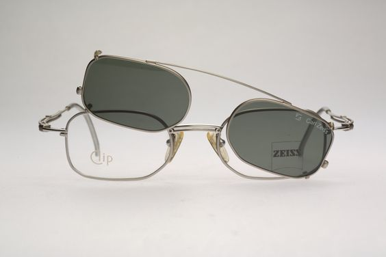 Carl Zeiss Eyeglass Frames : Carl Zeiss 5696 / NOS / 90S / Vintage eyeglasses clip on ...