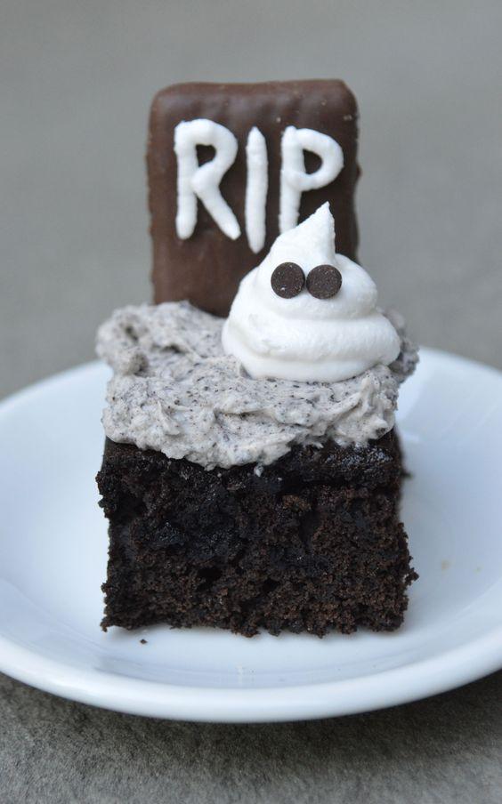 ... Brownies | Everything | Pinterest | Halloween Graveyard, Oreo Brownies