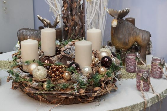 bilder hausmesse weihnachten 2 3 nov willeke floristik christmas advent wreaths. Black Bedroom Furniture Sets. Home Design Ideas