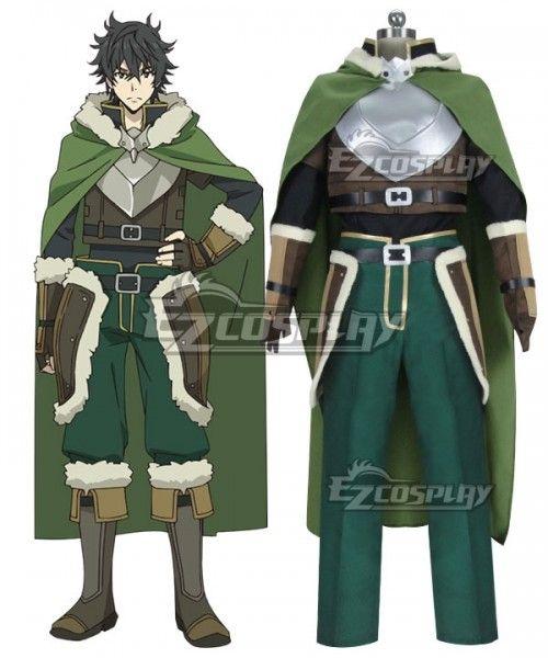 The Rising of the Shield Hero Naofumi Iwatani Cosplay Costumes Halloween