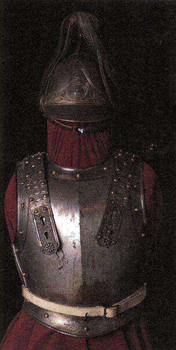 Cavalry armor of Tokugawa Yoshinobu (The last shogun of Japan), a gift from Napoleon III.