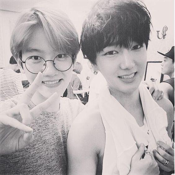 Yesung twitter update (with Baekhyun) ---------- 백.성 이번 하모니도 좋았으 ~!! #夏の終わりのハーモニー #Superjunior #EXO #백성