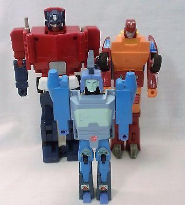 Transformers G1 lot  Optimus Prime  Blurr  Rodimus Prime
