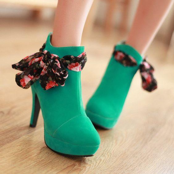 Shoes For Women Boots Heel boots womans shoe | Shoes | Pinterest ...