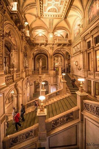 Vienna Opera House, August von Sicardsburg, Eduard van der Nüll, by mel.gray