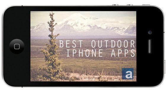 Las mejores aplicaciones para Iphone: aire libre