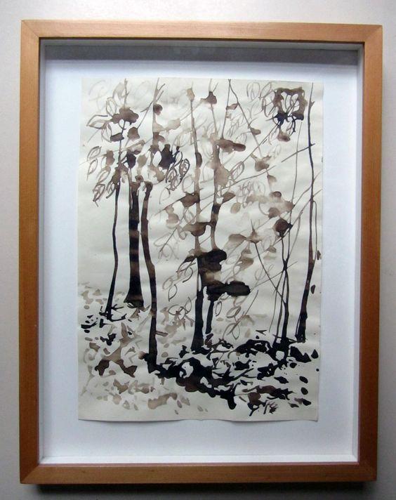 aquarela_enquadrada.jpg (866×1094) Idéias para molduras de quadros p&b