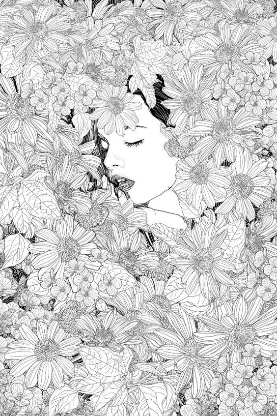 Thinking of you Art Print by PedroTapa
