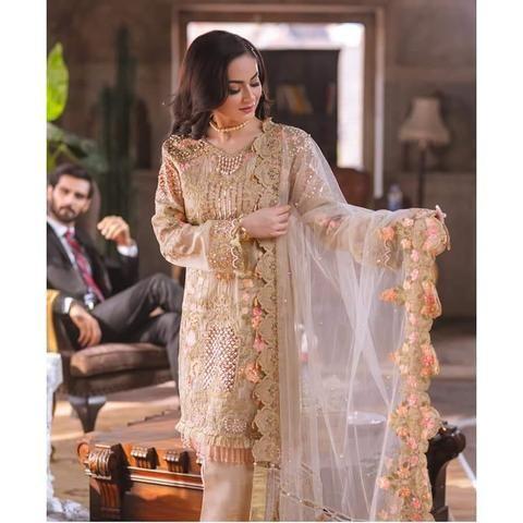 Rangrasiya Net Suit In 2019 Hania Amir Pakistani Designer