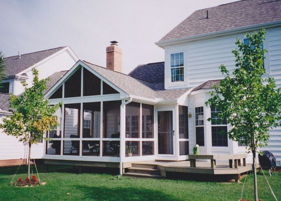 Screened In Deck With Hip Roof Roof Http