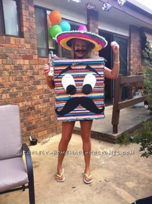 Coolest Mexican Pinata Costume... This website is the Pinterest of costumes