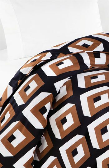 Diane von Furstenberg 'Diamond Haze' 300 Thread Count Duvet Cover available at #Nordstrom