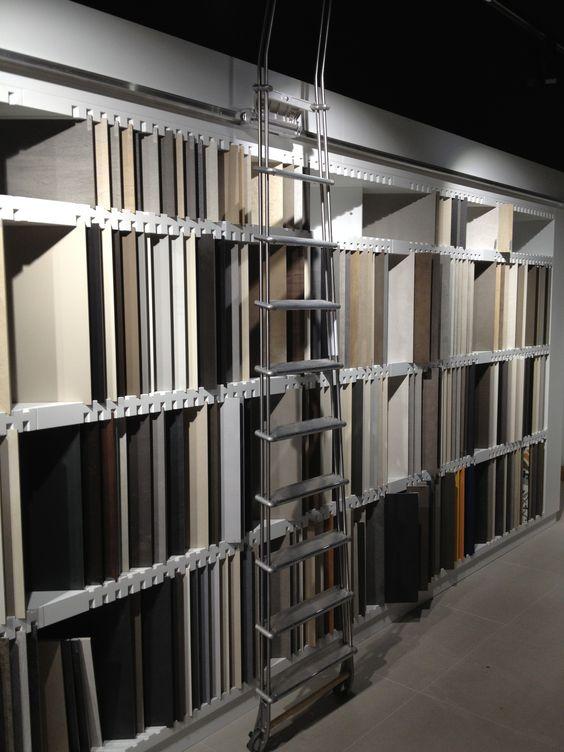 Tiles showroom furniture strasbourg france architecture - Interior design tiles showroom ...