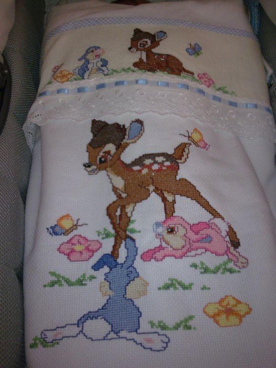 copertina e lenzuolino per cullino Bamby   Le creazioni di ...