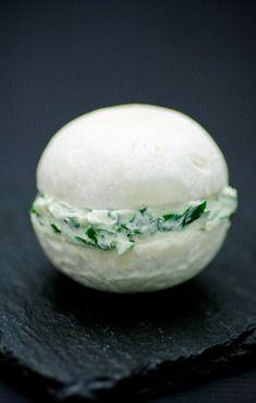 Macaron de champignons de Paris