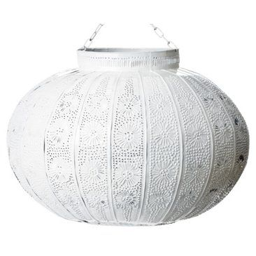 Check out this item at One Kings Lane! Tangier Lantern, White