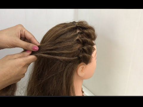 2 Beautiful Hairstyle Looks For Diwali Easy Festive Hairstyles Youtube Front Hair Styles Hair Styles Easy Hairstyles For Long Hair