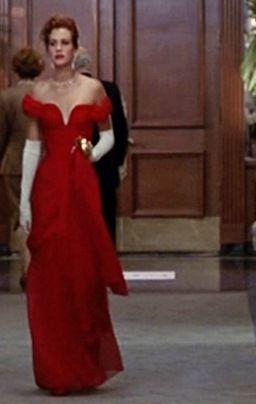 Pretty Woman Red Dress Julia Roberts  Fashion Films  Pinterest ...