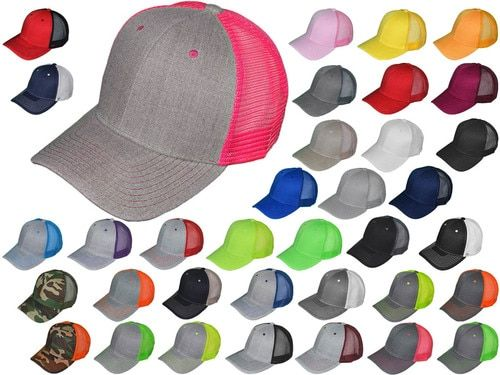 Snapback Hat Hip Hop Baseball Cap Hats Plain Flat Mens Military Blank Two Tone