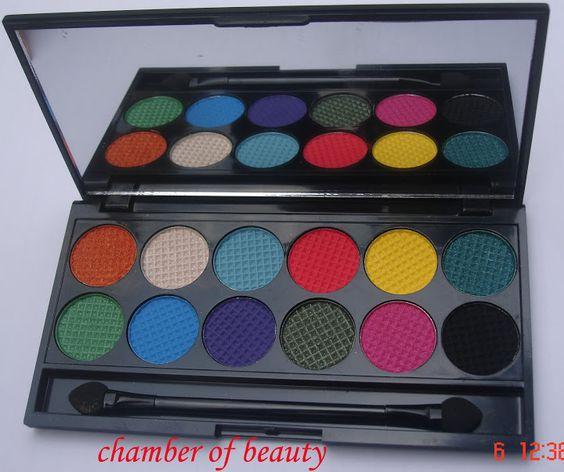 Chamber of beauty....: Sleek Makeup Caribbean Collection Curacao I-Divine Palette- For the love of brights ♥♥