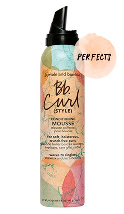 Bumble Curl conditioning mousse