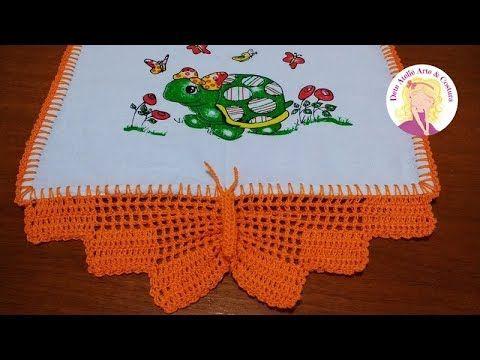 Bico De Croche 70 Modelos De Barrado De Croche Tutorial Facil