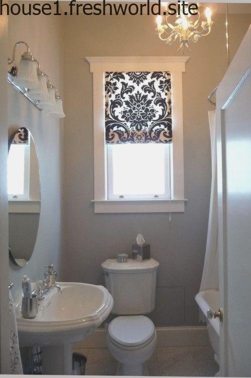 Badezimmer Fenster Behandlung Ideen Small Bathroom Window Bathroom Window Coverings Bathroom Window Curtains