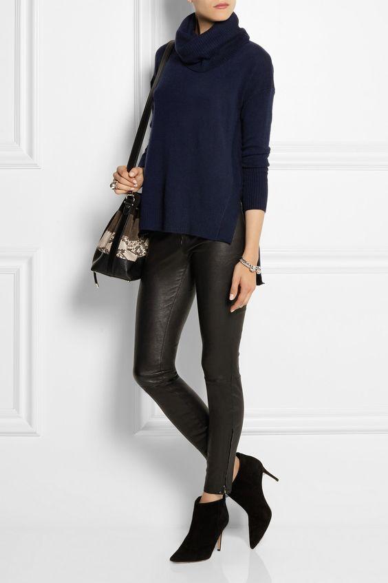 Diane von Furstenberg|Ahiga Slim cashmere turtleneck sweater|NET-A-PORTER.COM