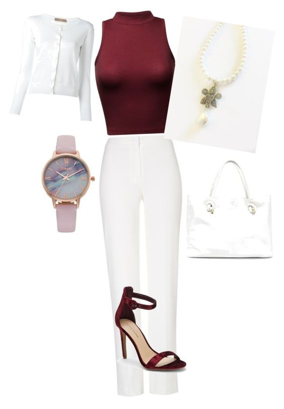 """Swarovski Collection 2"" by nimisharikhidesigns on Polyvore featuring Vivani, Sole Society, ESCADA, Saks Fifth Avenue and Cruciani:"