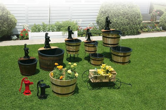 Rustic Garden Decor Amish Yard Lawn Pinterest Beautiful People And Culture