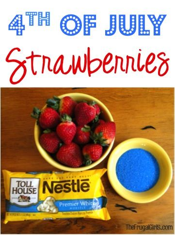 fourth of july strawberry recipe