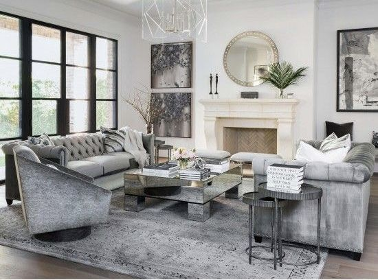 Beautiful Monochromatic Grey Living Room Decor Living Room Grey Luxury Living Room Living Room Designs