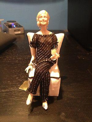 J Middlebrook Miniature Woman Doll