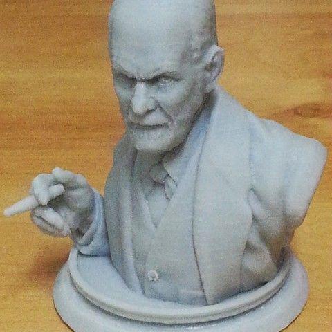 Sigmund Freud Bus,t 3D printer file