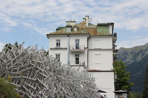 AnneLiWest Berlin white noise kunstpavillon, Bad Gastein
