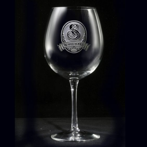 Personalized Monogram Red Wine Glass. Red Wine Glass, Custom Engraved monogram personalized red wine glass for the wine enthusiast or connoisseur!  Perfect for merlot, Syrah (or Shiraz), Cabernet Sauvignon, Malbec, Pinot noir, Zinfandel, and Burgundy.