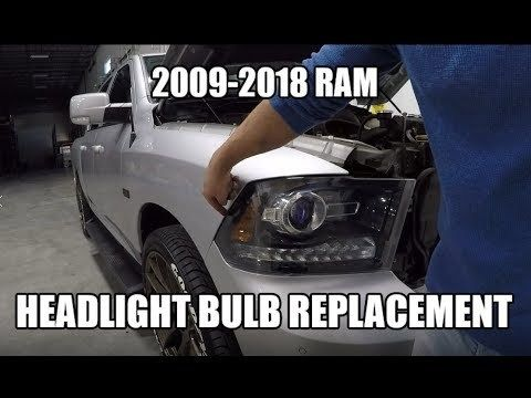 Latest Dodge Ram Removing The Headlights And Grille On Your Ram 1500 2500 3500 Diy How To 91776 San Gabrie Ram 1500 Headlights Headlight Bulb Replacement