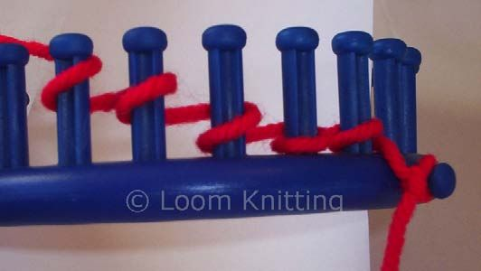 Different stitches, what they look like, how to - on a loom
