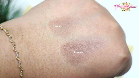 Contoh Intensitas Colour Box Mono Eyeshadow