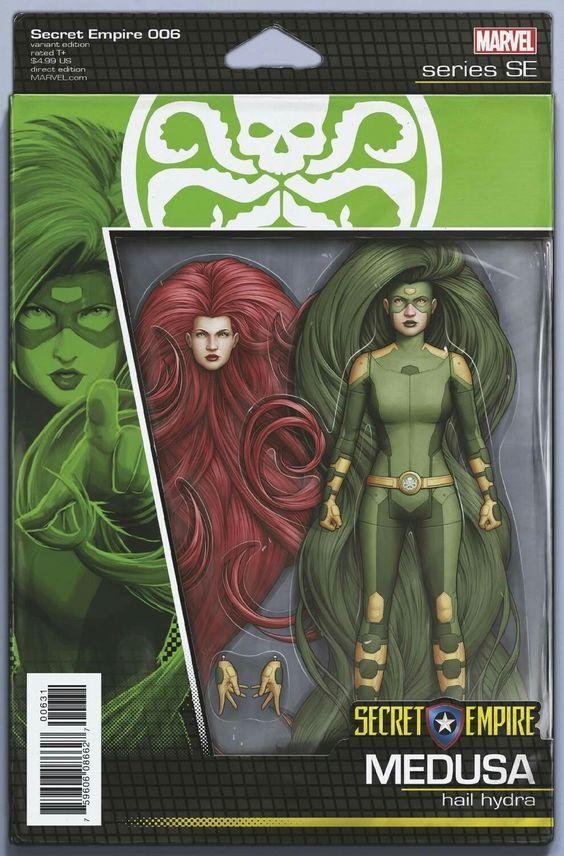 Inhumans VS X-Men # 1  Action Figure Variant Cover NM