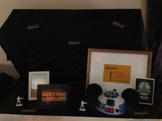 Star Wars photo party favor