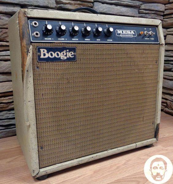 1975 Mesa Boogie Mark I - 50W 1x12 - EV Speaker - #A151 - Free Shipping!   Reverb