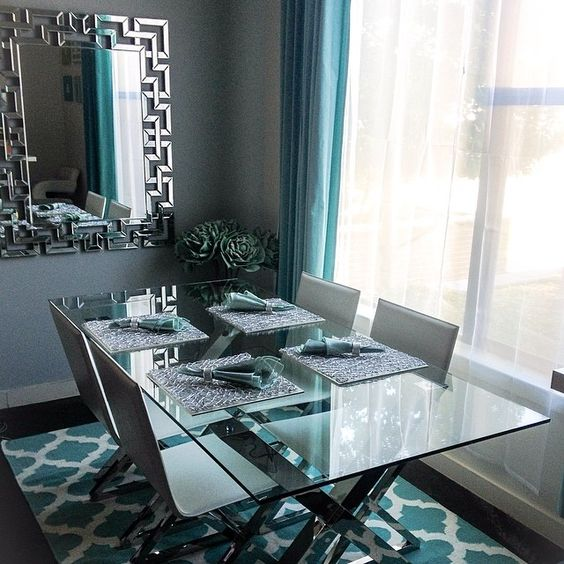 Thalyandrea S Dining Room Is 100 Zgallerie Features