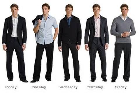 Semi Formal Dress Code Men Photo Album - Reikian