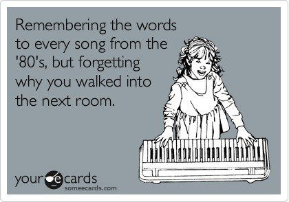 Ha!  Frighteningly me!: E Card, My Life, So True, Funny Stuff, Totally Me, The 90S, 80 S