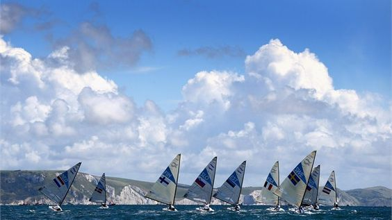 Sailing at Weymouth