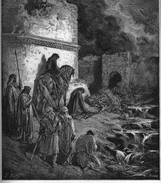 UnCatolico-Biblia-134- Nehemías ve las ruinas de los muros de Jerusalén (134)