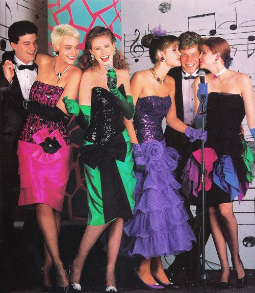 80s party outfits, 80s prom dress