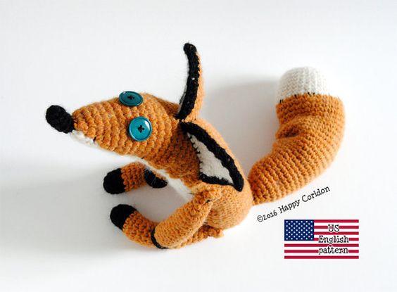 Little Prince Amigurumi Free Pattern : Little prince fox amigurumi crochet pattern. Istant ...